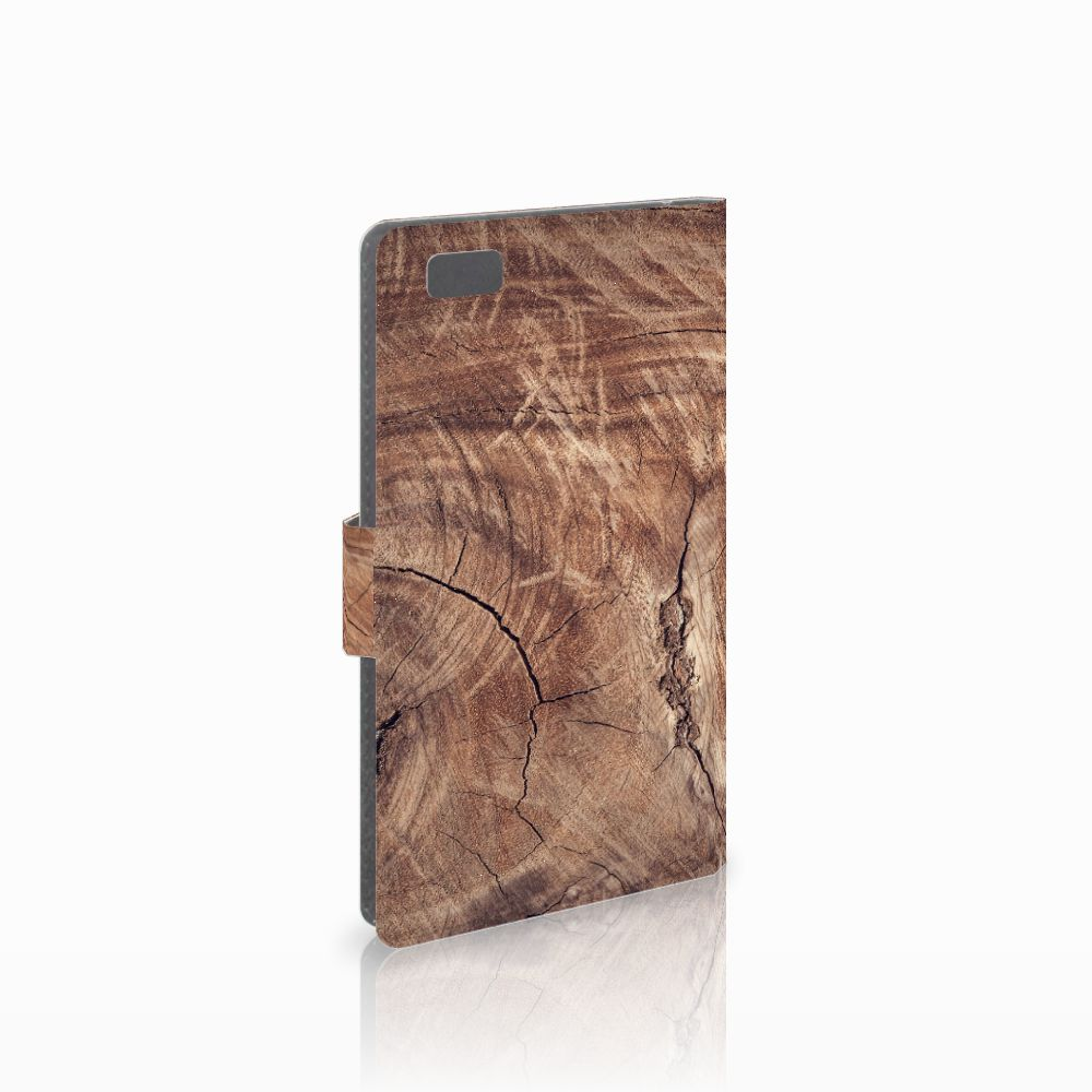 Huawei Ascend P8 Lite Boekhoesje Design Tree Trunk