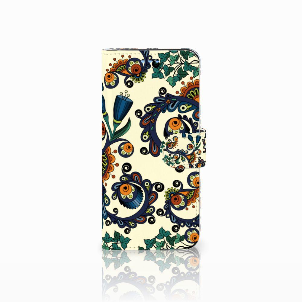 Samsung Galaxy S9 Boekhoesje Design Barok Flower