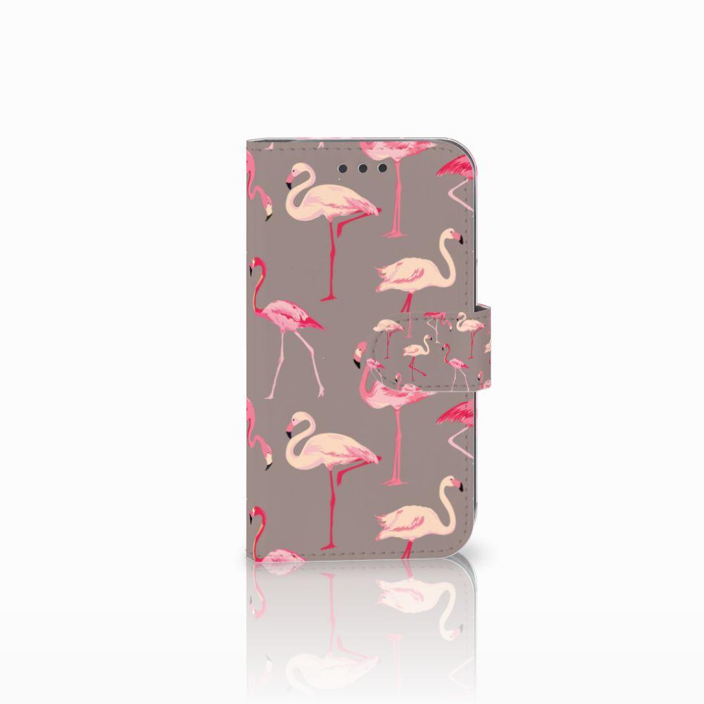 Samsung Galaxy S3 i9300 Uniek Boekhoesje Flamingo