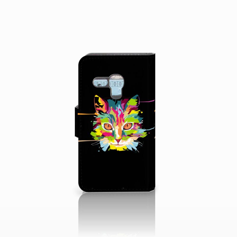 Samsung Galaxy S3 Mini Leuke Hoesje Cat Color