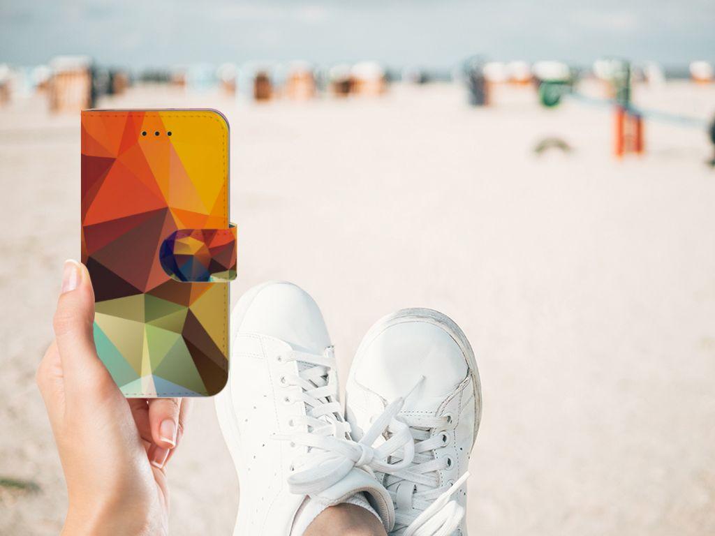 Apple iPhone X | Xs Boekhoesje Design Polygon Color