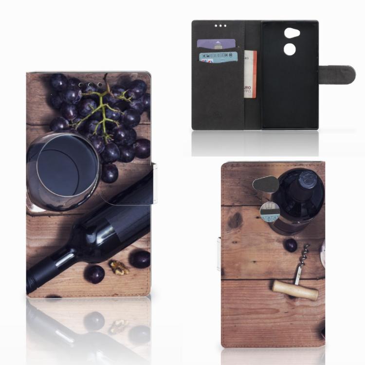 Sony Xperia L2 Book Cover Wijn