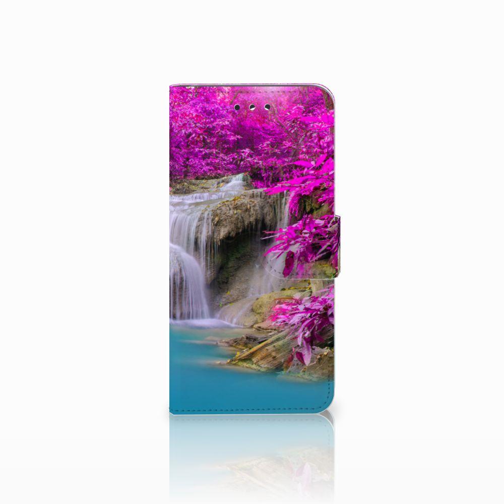 LG G7 Thinq Uniek Boekhoesje Waterval