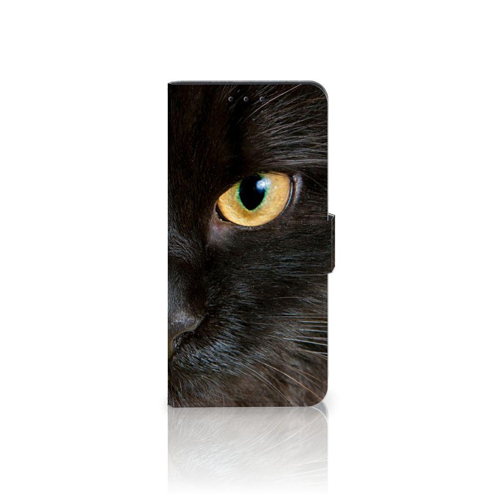 Nokia 6 Uniek Boekhoesje Zwarte Kat