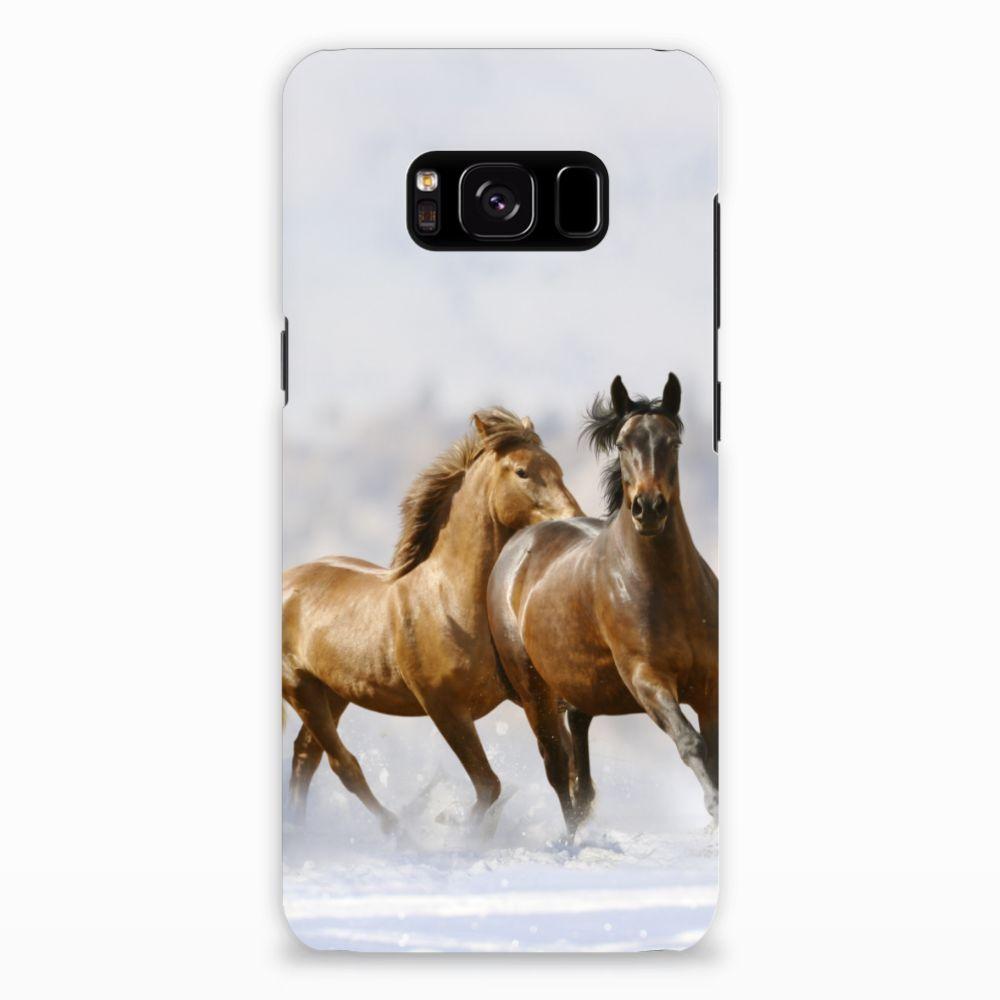 Samsung Galaxy S8 Uniek Hardcase Hoesje Paarden