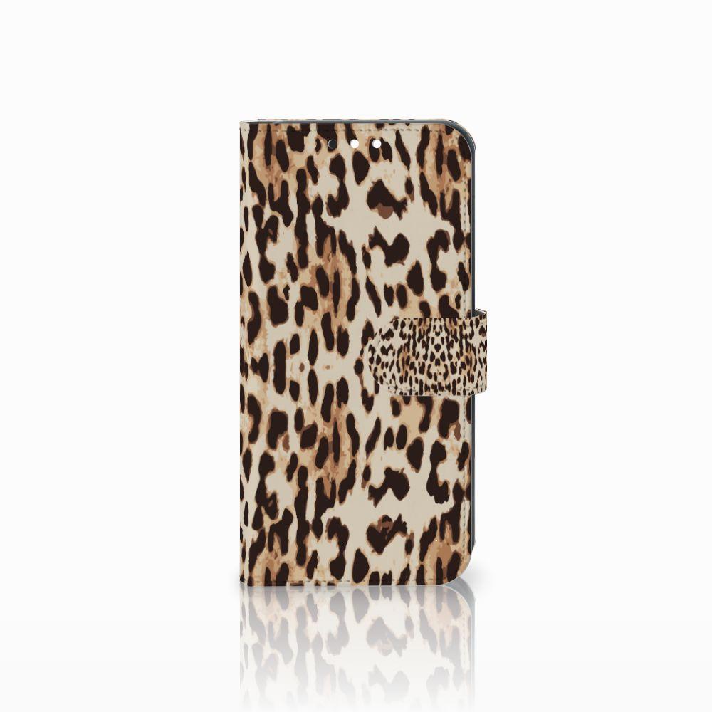 Huawei Mate 10 Lite Uniek Boekhoesje Leopard