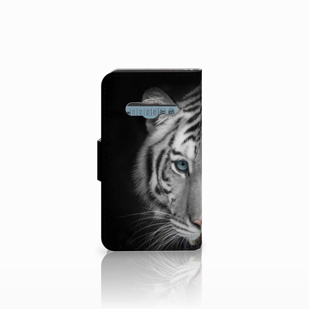 Samsung Galaxy Trend 2 Telefoonhoesje met Pasjes Tijger