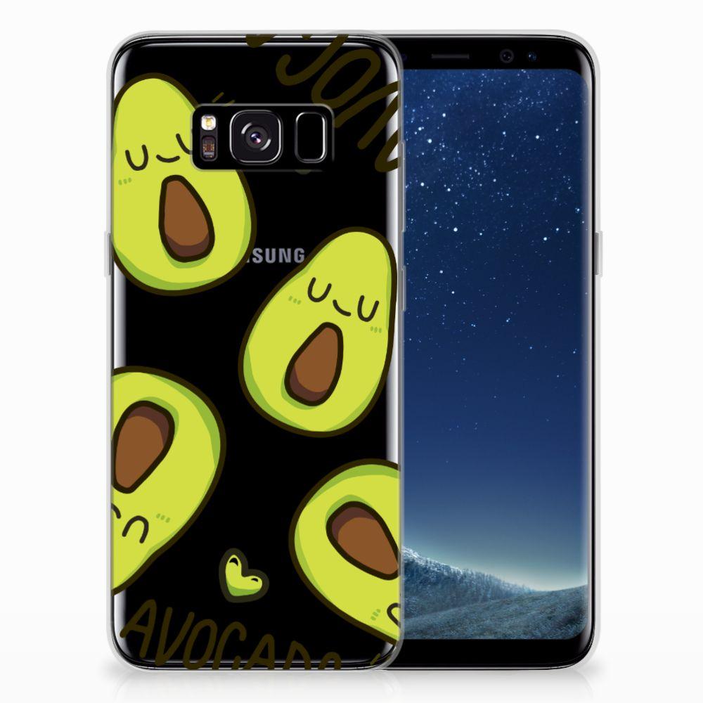 Samsung Galaxy S8 Telefoonhoesje met Naam Avocado Singing