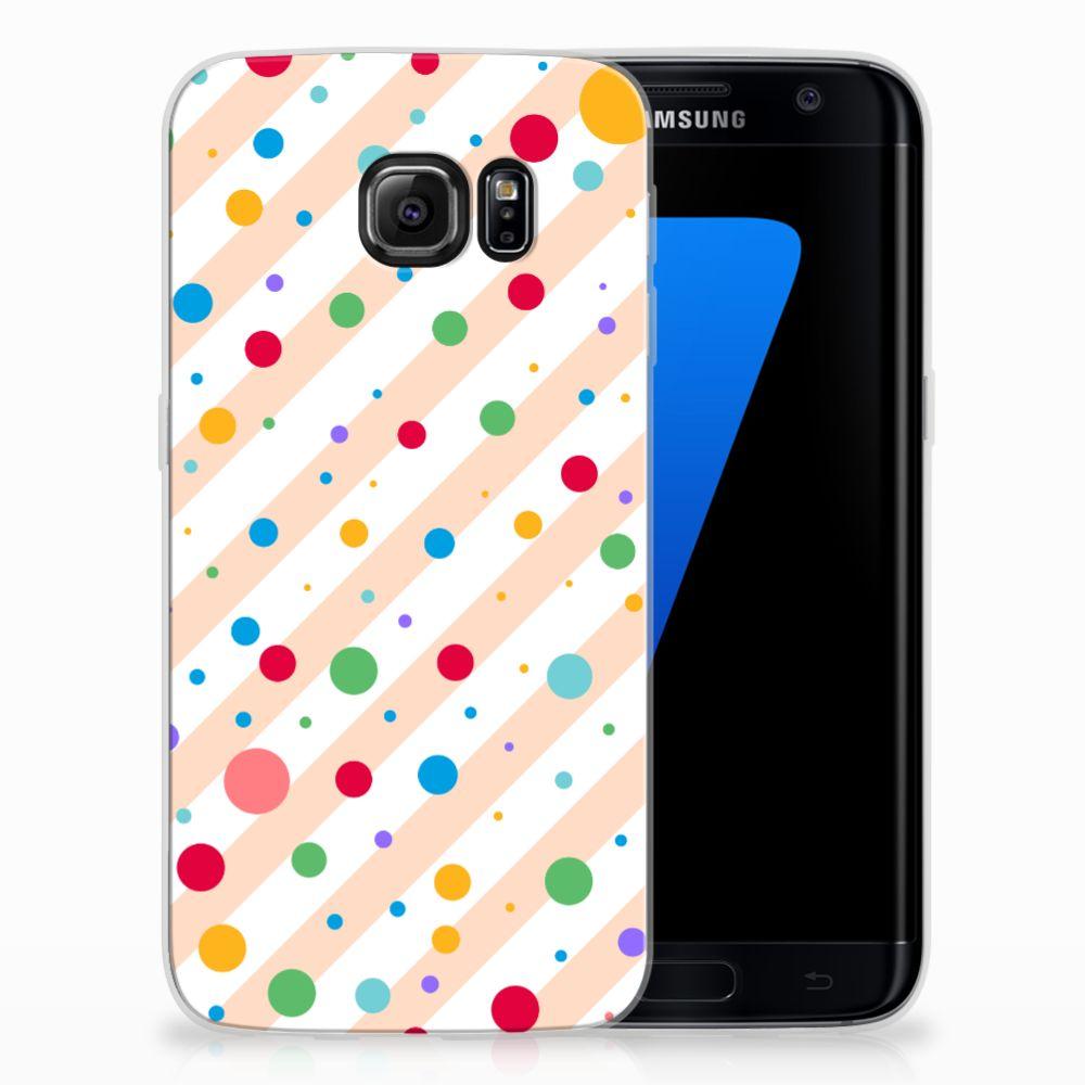 Samsung Galaxy S7 Edge TPU bumper Dots