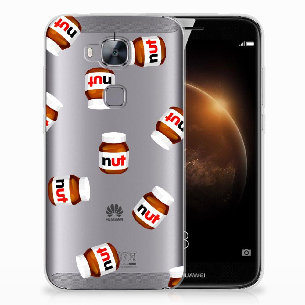 Huawei G8 Siliconen Case Nut Jar