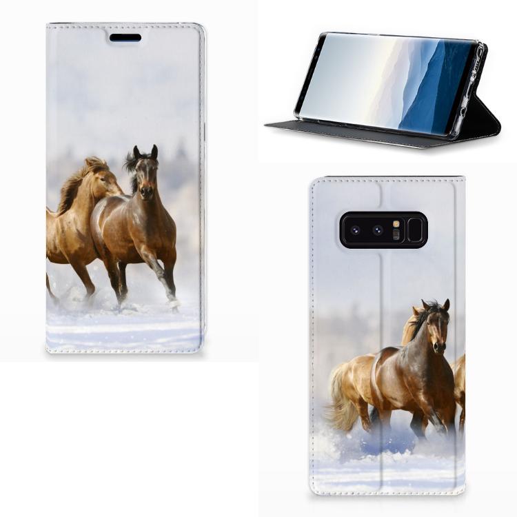 Samsung Galaxy Note 8 Hoesje maken Paarden