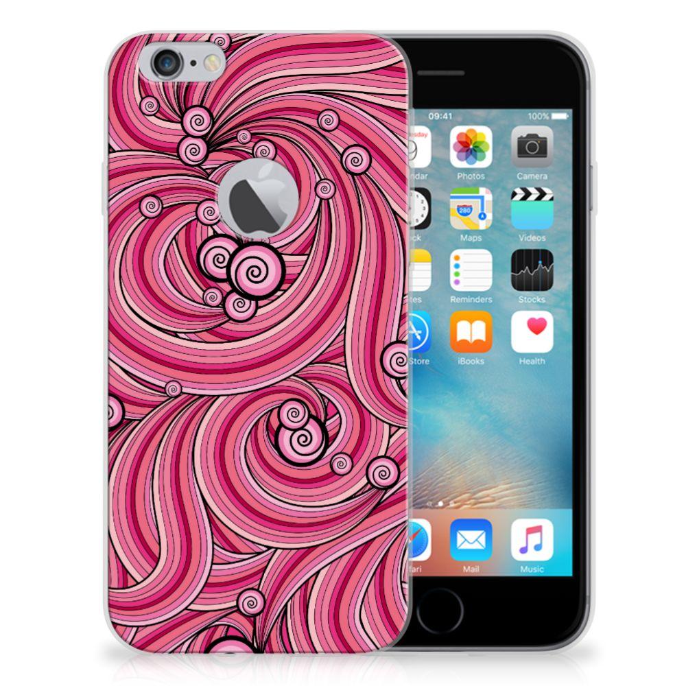 Apple iPhone 6 Plus | 6s Plus Hoesje maken Swirl Pink