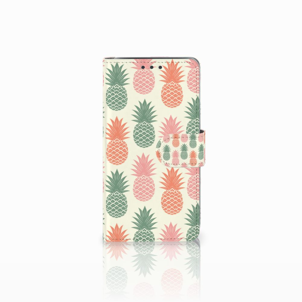 Samsung Galaxy J5 (2015) Boekhoesje Design Ananas
