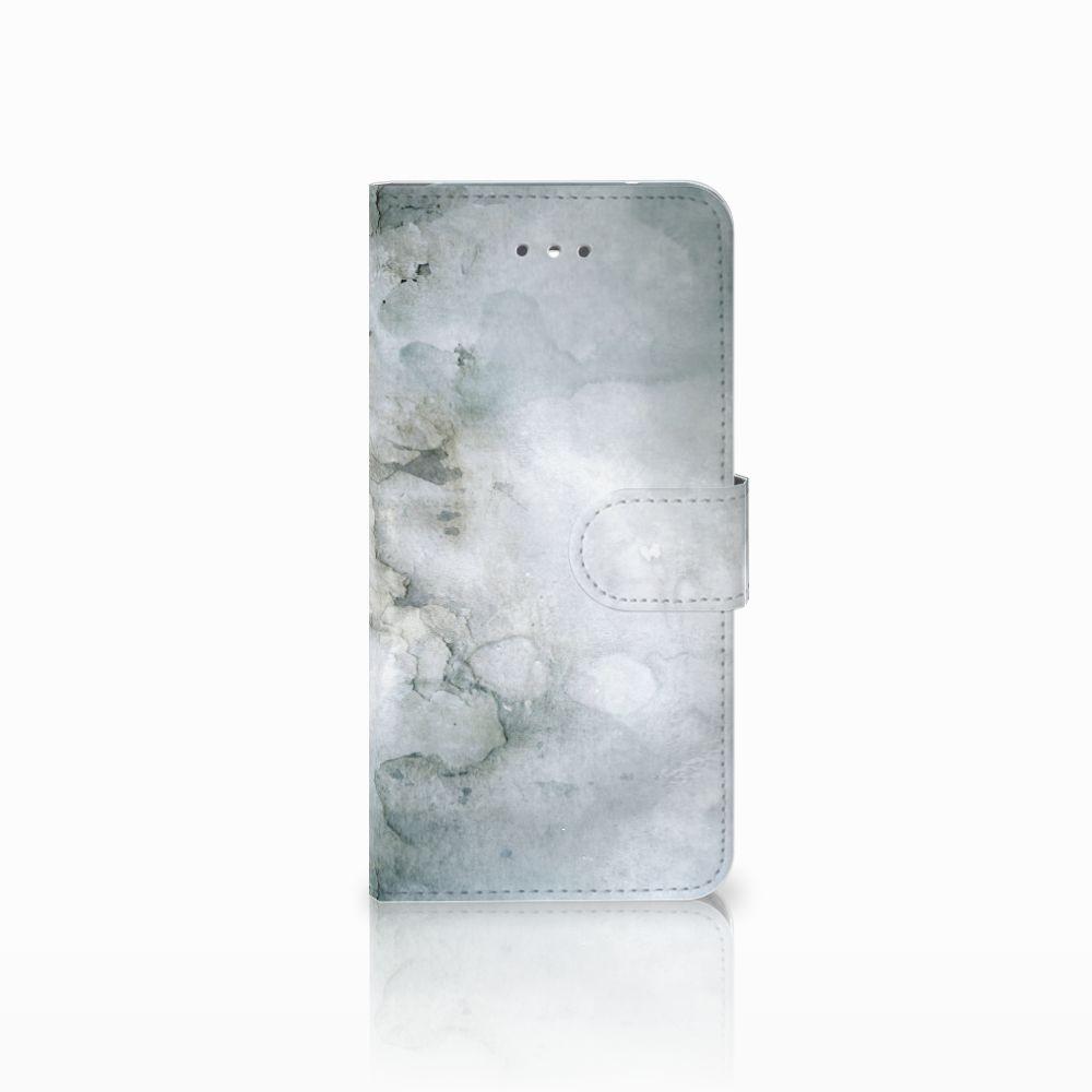 LG Nexus 5X Uniek Boekhoesje Painting Grey