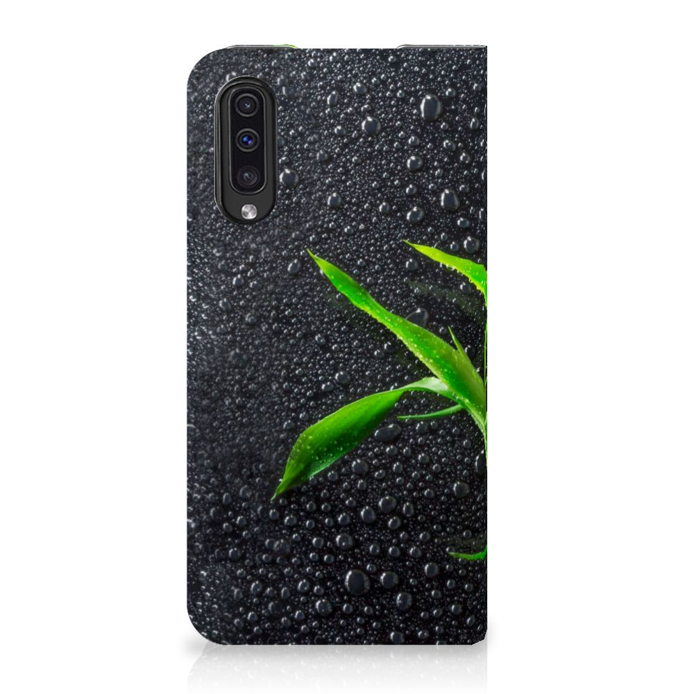 Samsung Galaxy A50 Standcase Hoesje Design Orchidee