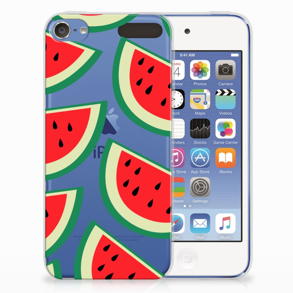 Apple iPod Touch 5 | 6 Siliconen Case Watermelons