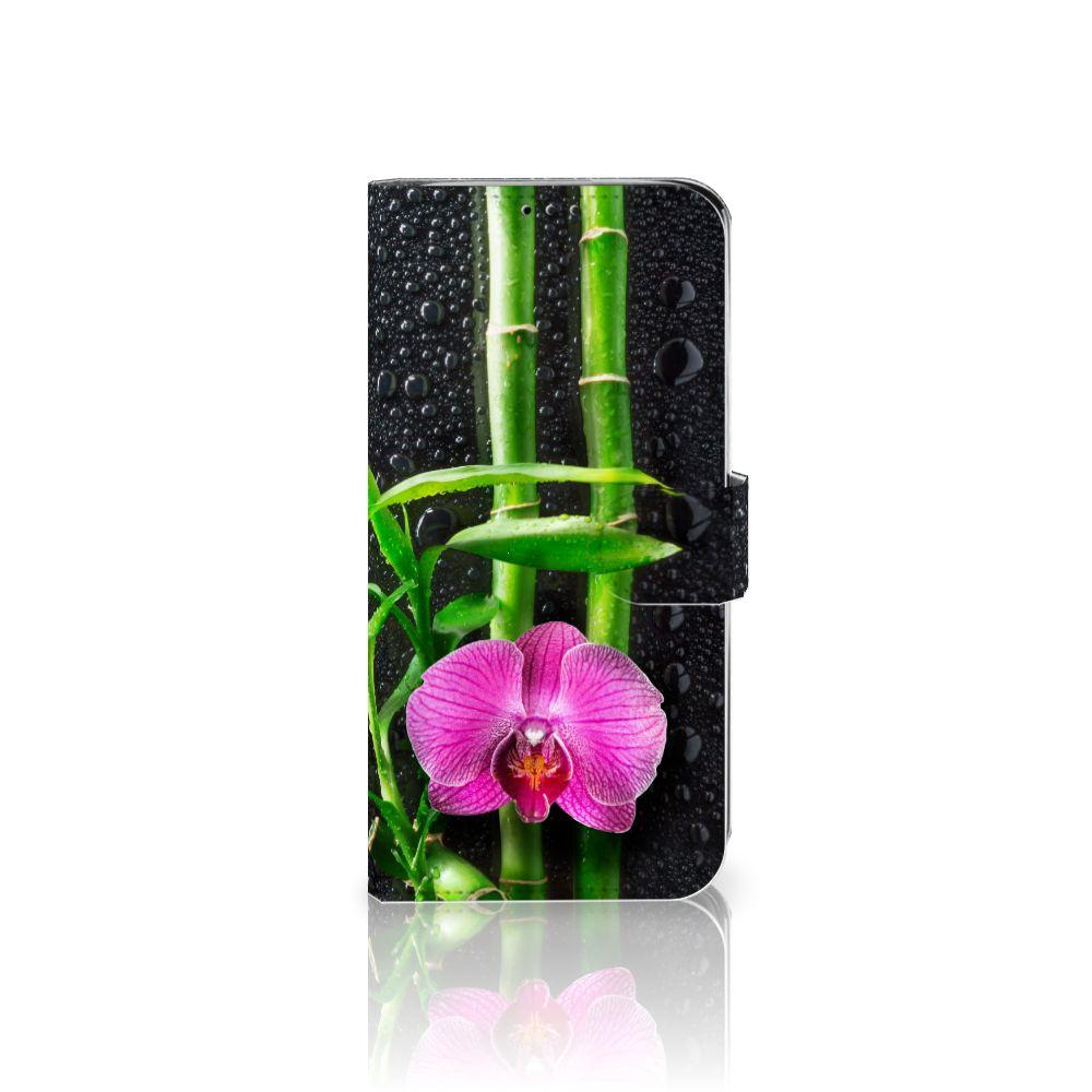Motorola Moto G7 Power Boekhoesje Design Orchidee
