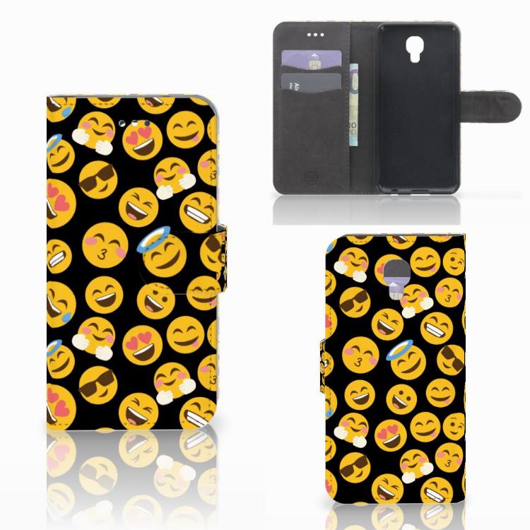 LG X Screen Telefoon Hoesje Emoji