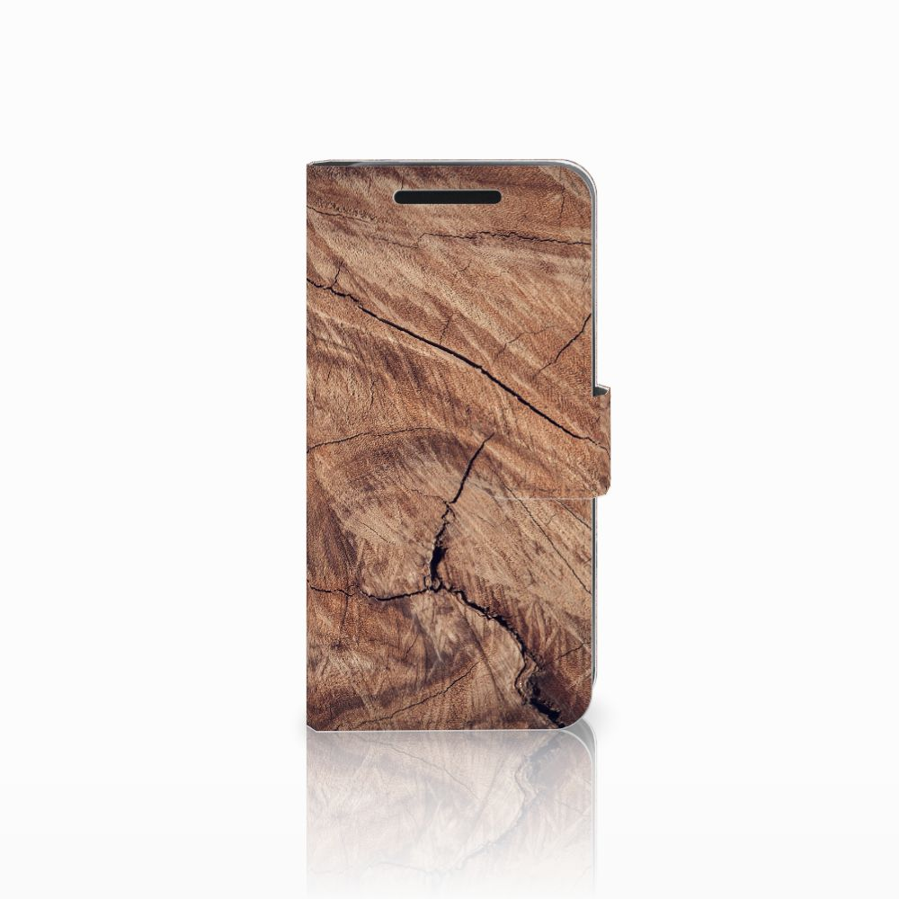 HTC One M9 Book Style Case Tree Trunk