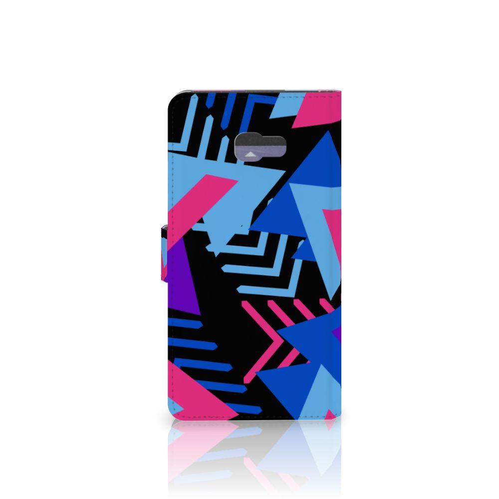 Samsung Galaxy A7 2017 Bookcase Funky Triangle