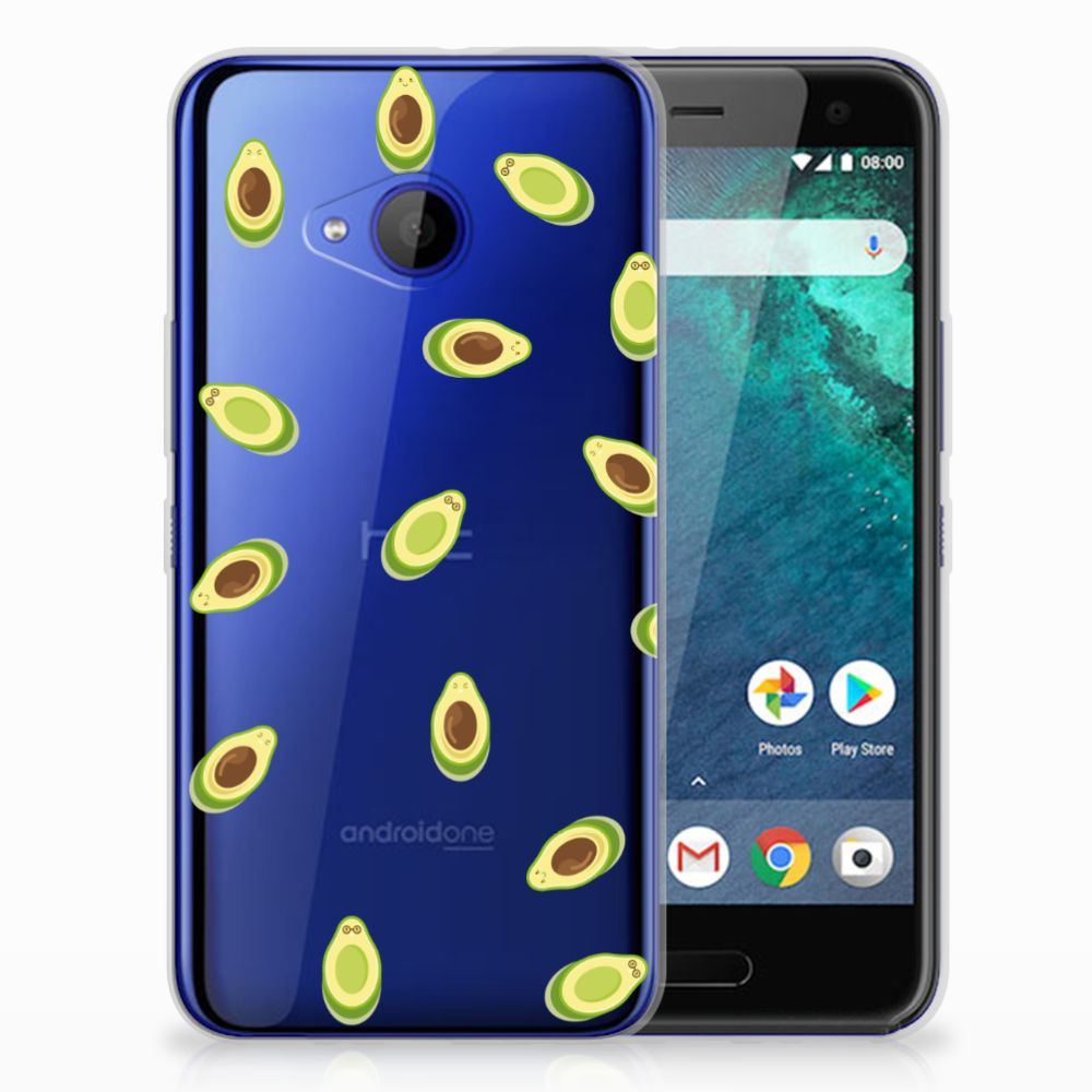 HTC U11 Life Siliconen Case Avocado