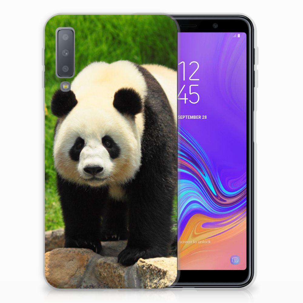 Samsung Galaxy A7 (2018) TPU Hoesje Panda