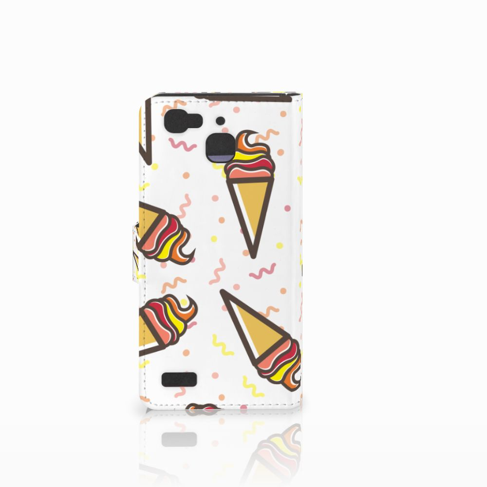 Huawei P8 Lite Smart (GR3) Book Cover Icecream