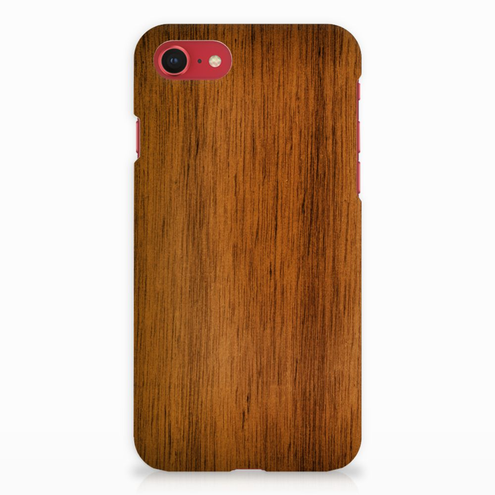 Apple iPhone 7   8 Backcase Donker Hout
