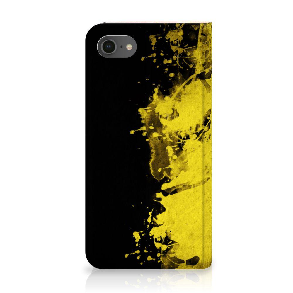 Apple iPhone 7 | 8 Standcase Hoesje Design Belgische Vlag