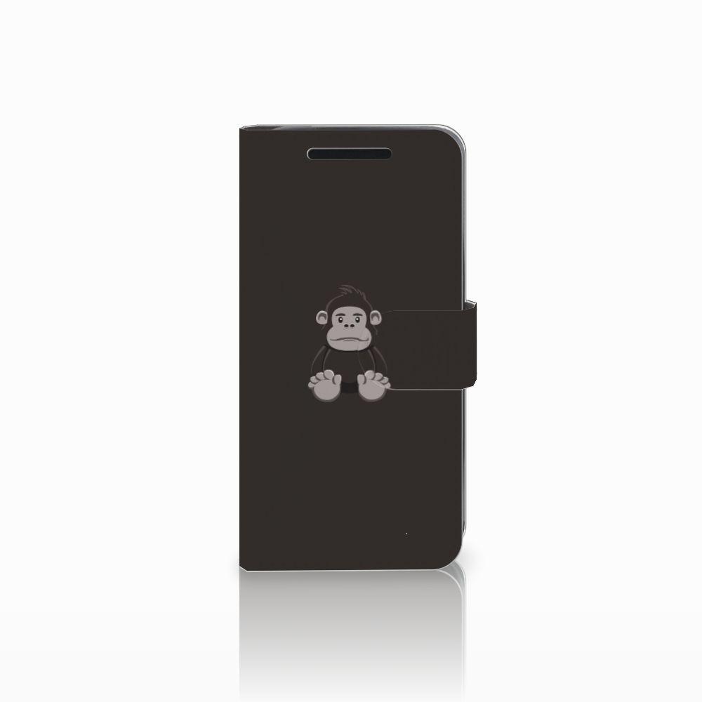 HTC One M9 Uniek Boekhoesje Gorilla