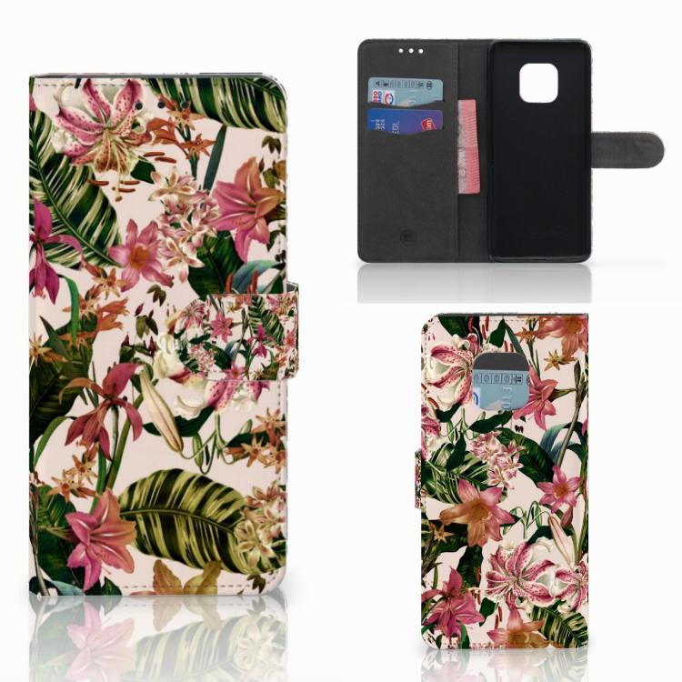 Huawei Mate 20 Pro Hoesje Flowers