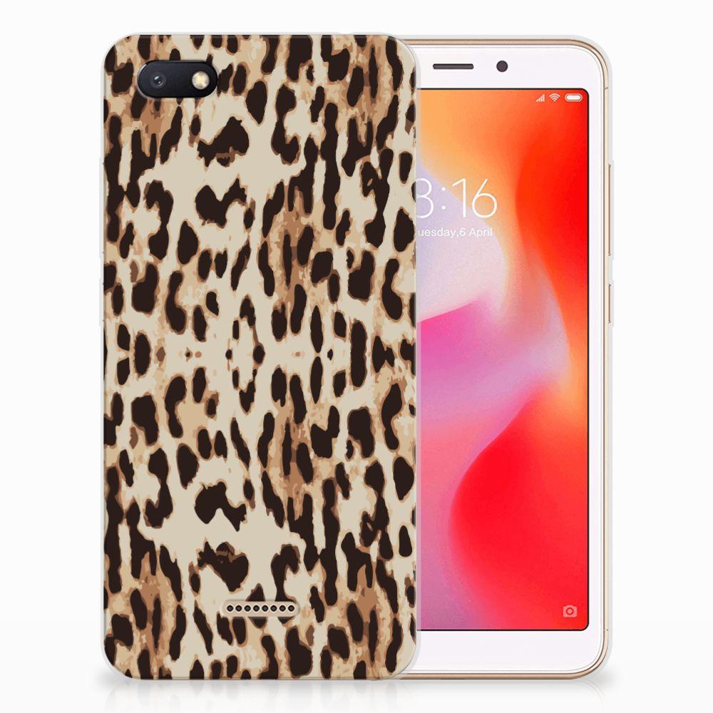 Xiaomi Redmi 6A TPU Hoesje Leopard