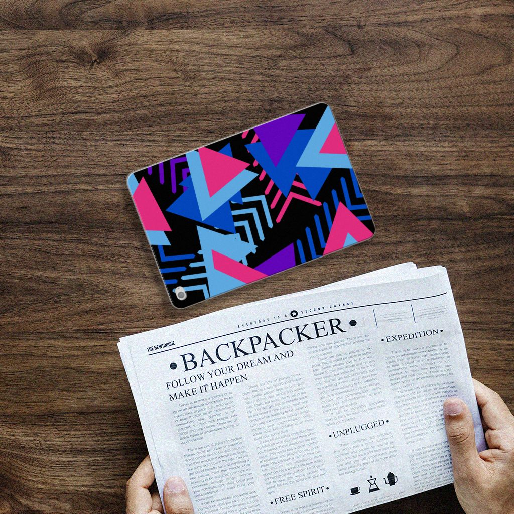 Apple iPad Mini 4 | Mini 5 (2019) Back Cover Funky Triangle