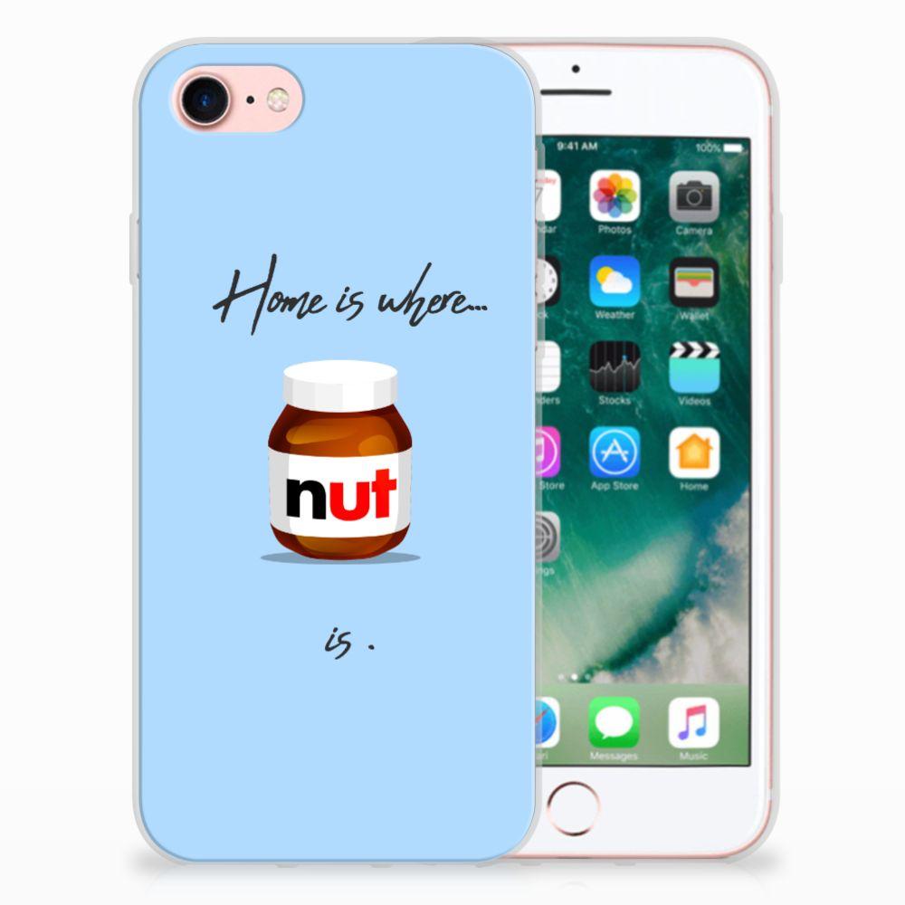 Apple iPhone 7 | 8 Uniek TPU Hoesje Nut Home