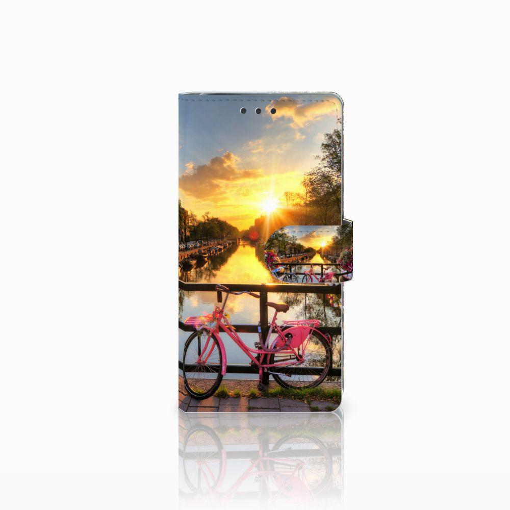 Sony Xperia X Performance Uniek Boekhoesje Amsterdamse Grachten