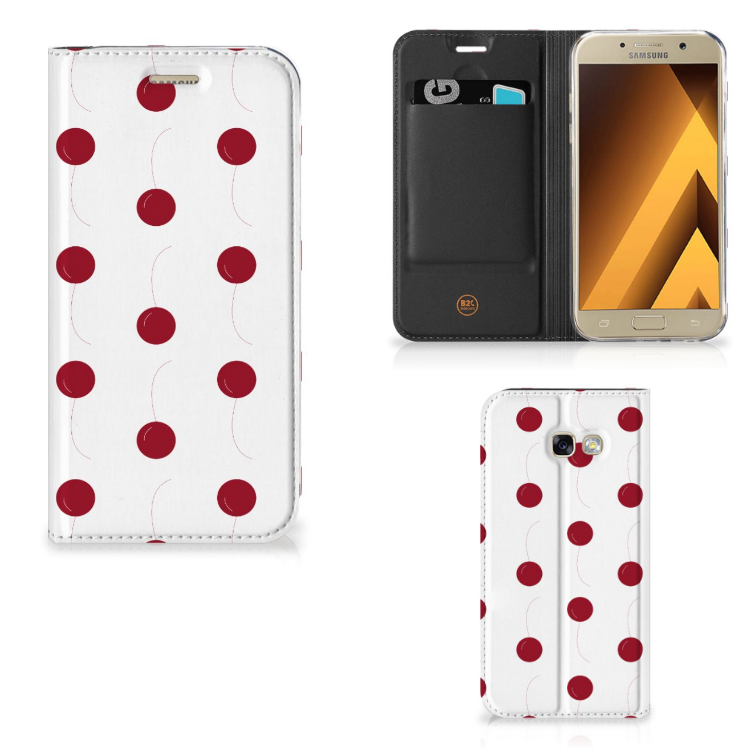 Samsung Galaxy A5 2017 Flip Style Cover Cherries