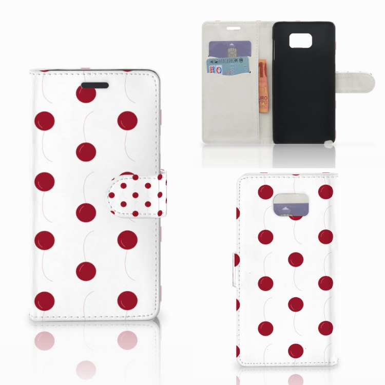 Samsung Galaxy Note 5 Book Cover Cherries