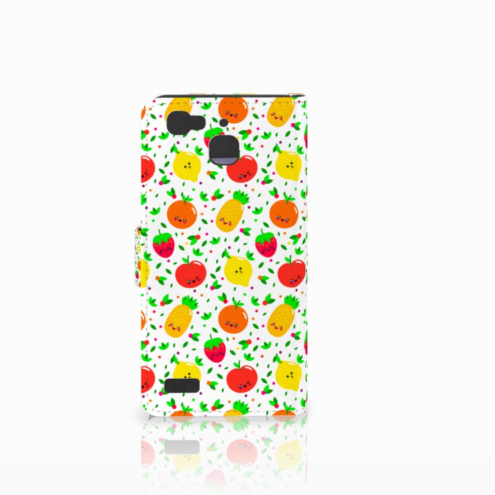 Huawei P8 Lite Smart (GR3) Book Cover Fruits