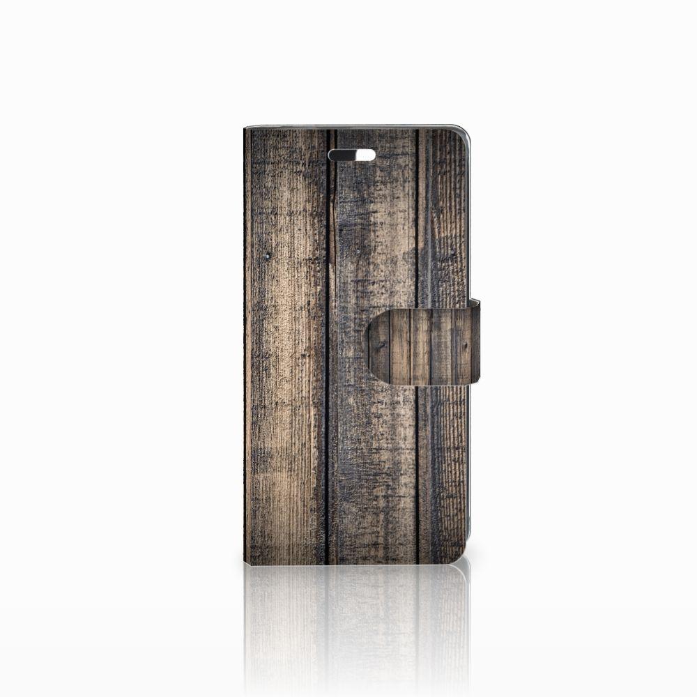 Huawei Y635 Boekhoesje Design Steigerhout