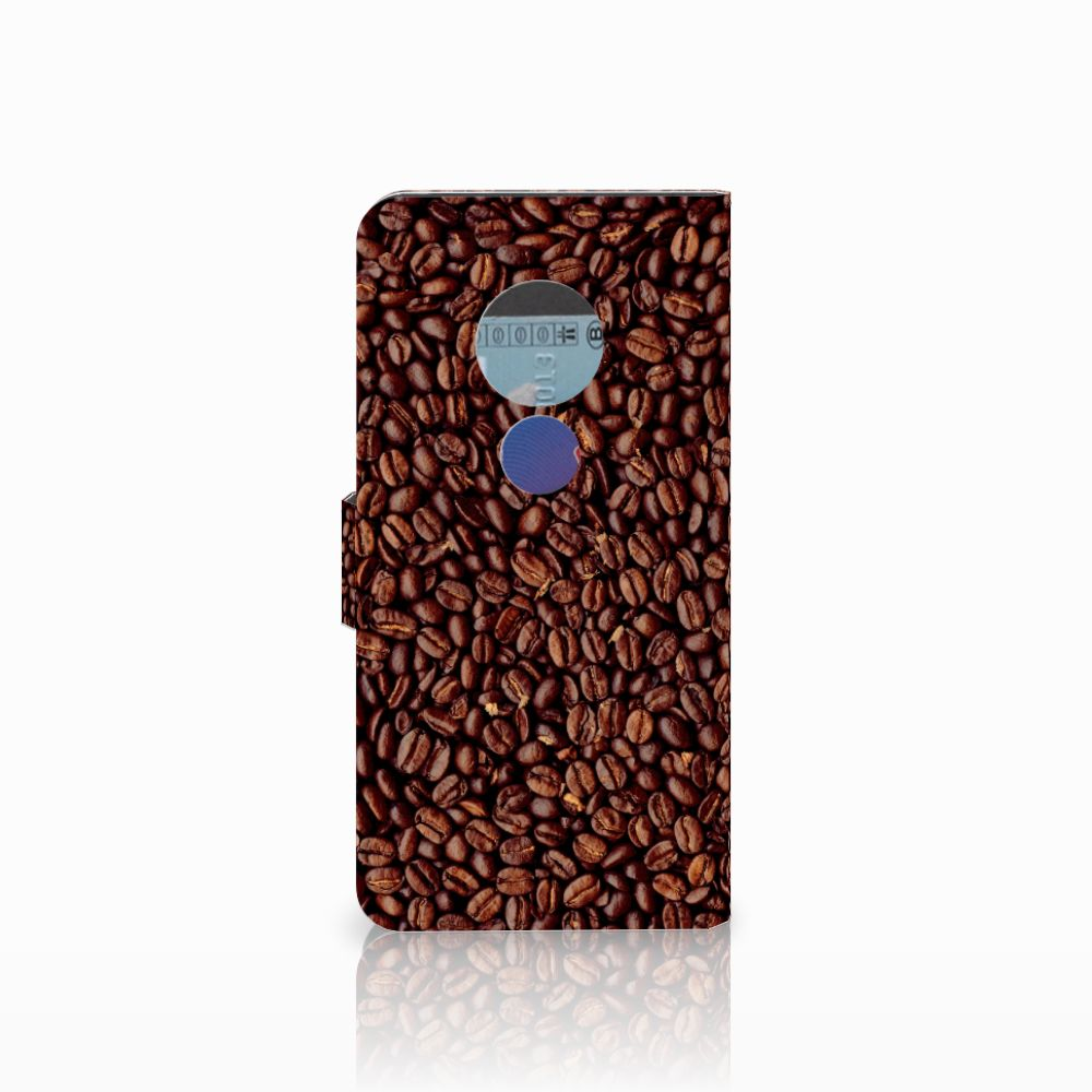 Motorola Moto E5 Book Cover Koffiebonen