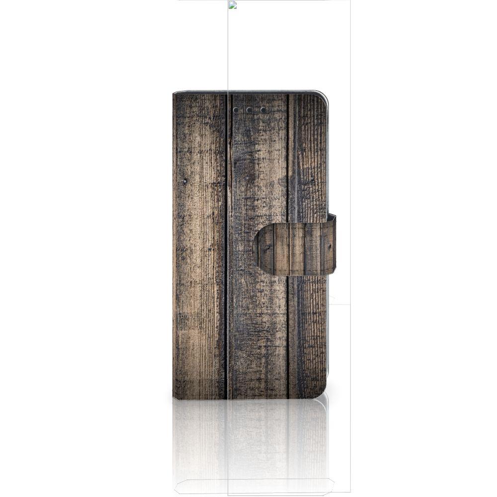 Huawei Ascend P8 Lite Boekhoesje Design Steigerhout