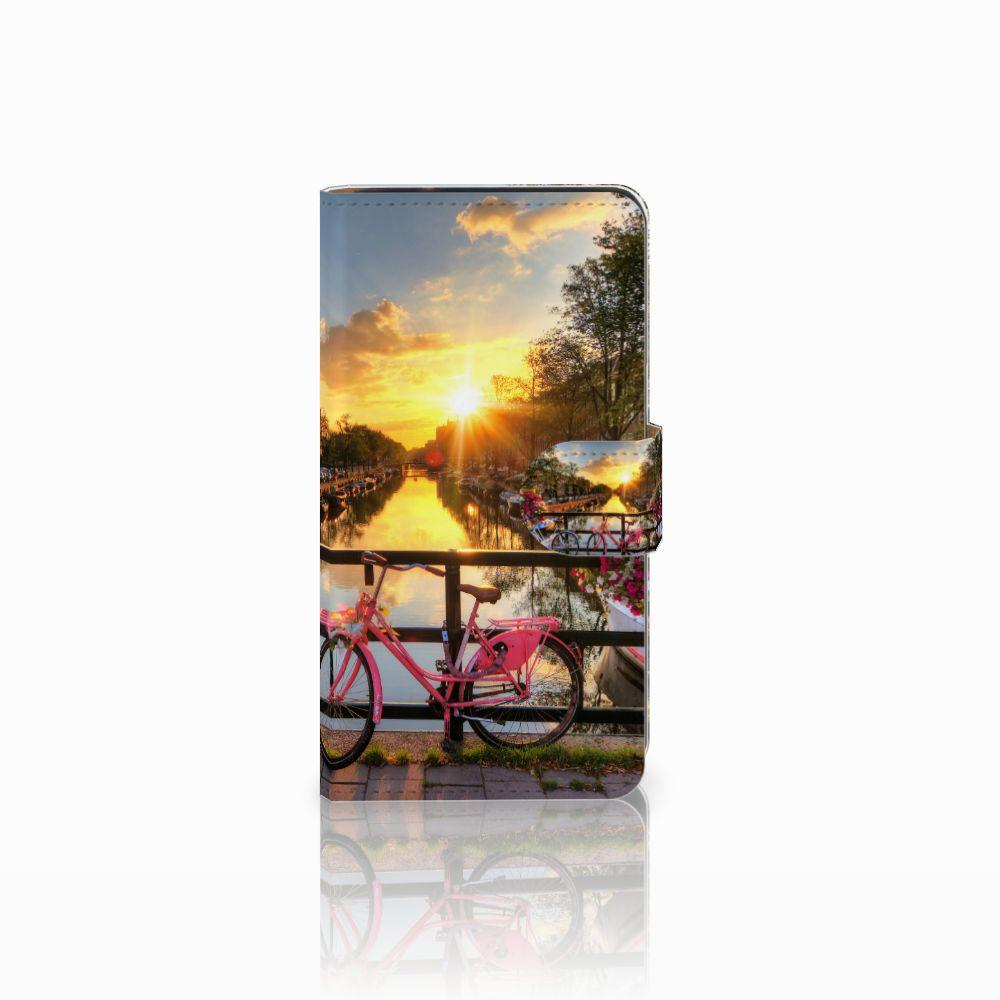 Samsung Galaxy J2 (2015) Uniek Boekhoesje Amsterdamse Grachten