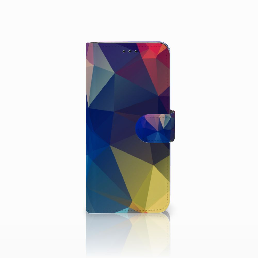Samsung Galaxy J6 2018 Bookcase Polygon Dark