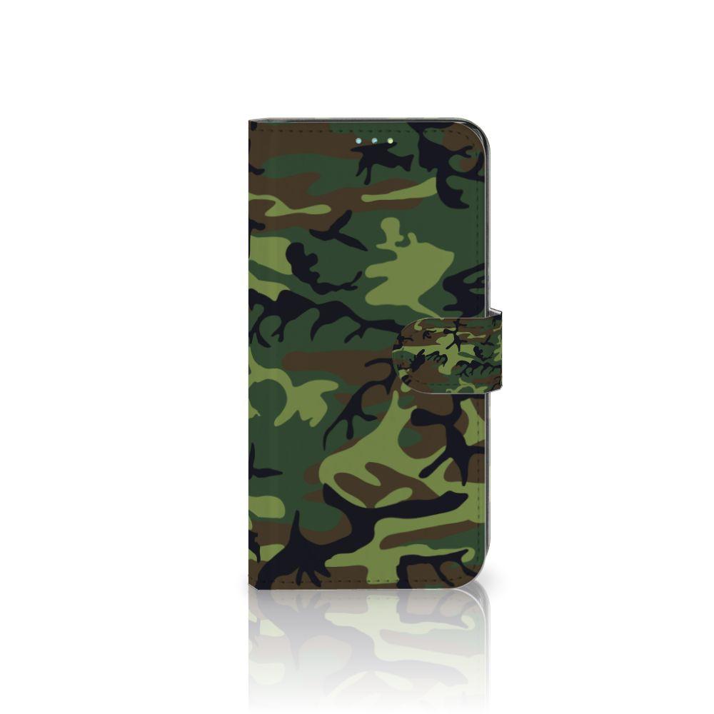 Samsung Galaxy A52 Telefoon Hoesje Army Dark
