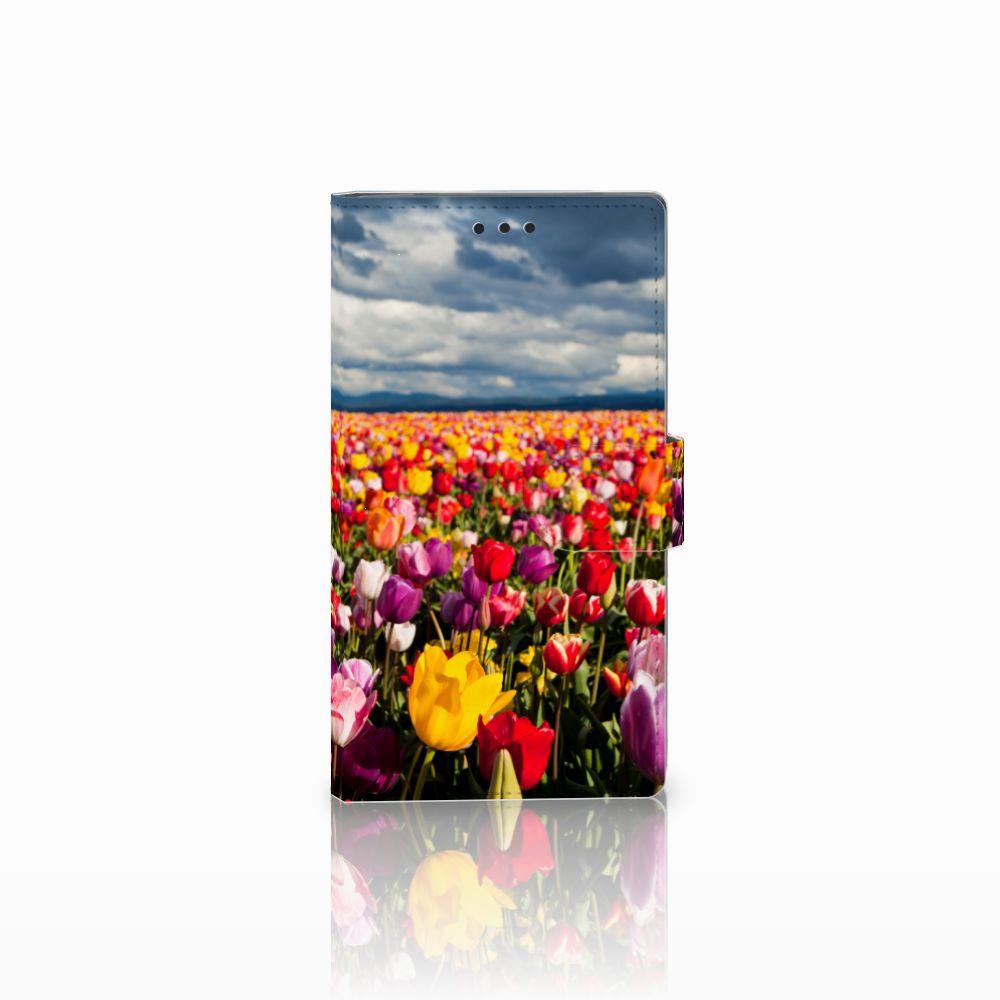 Sony Xperia L2 Uniek Boekhoesje Tulpen