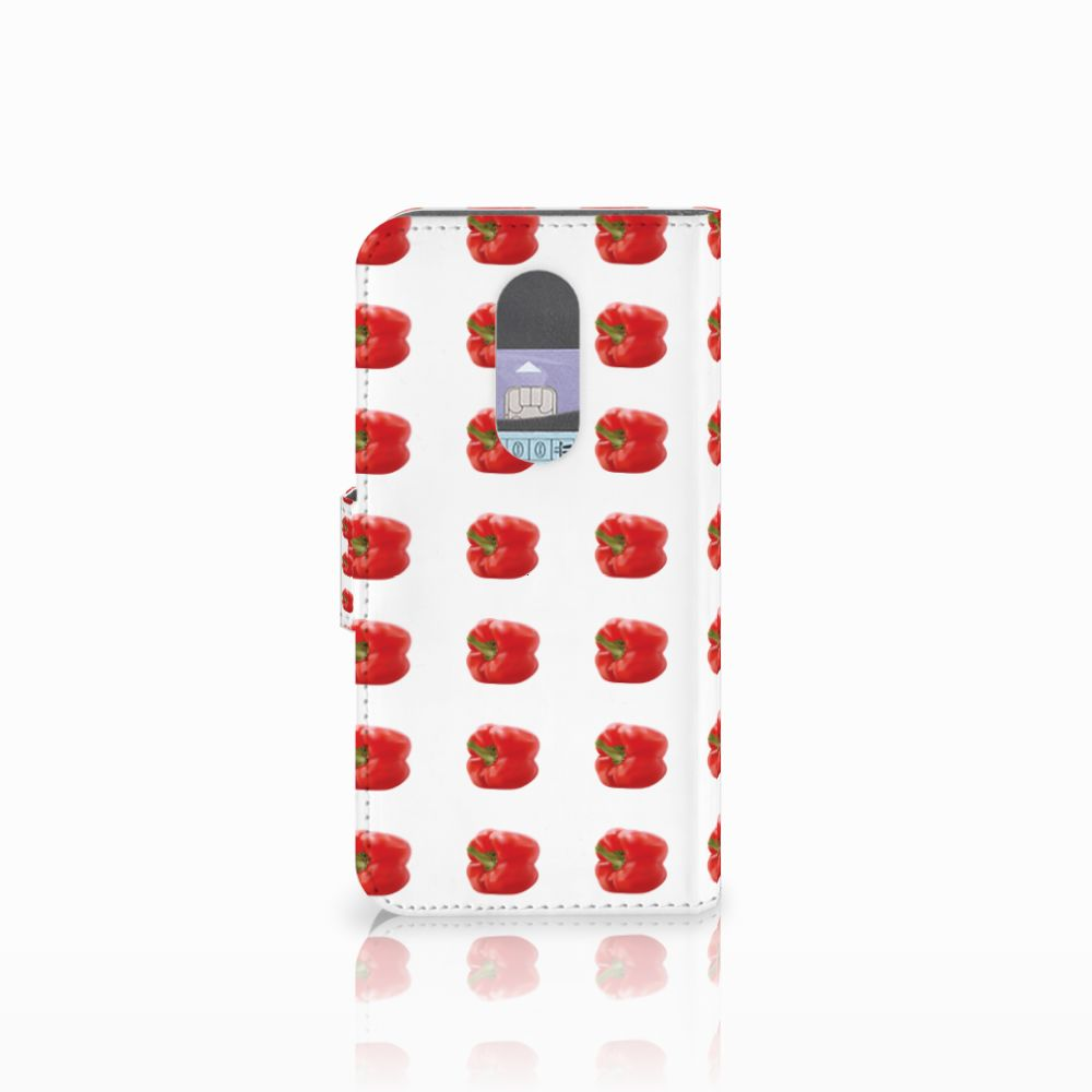 Wiko Wim Lite Book Cover Paprika Red