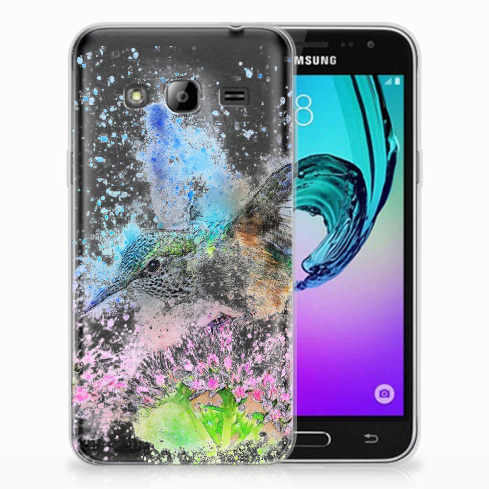 Samsung Galaxy J3 2016 TPU Hoesje Design Vogel