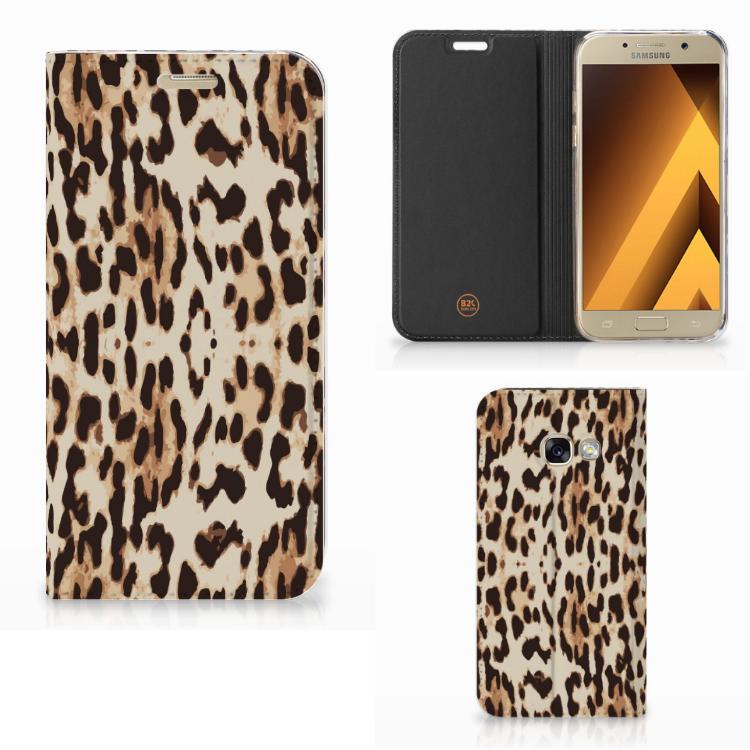 Samsung Galaxy A3 2017 Hoesje maken Leopard