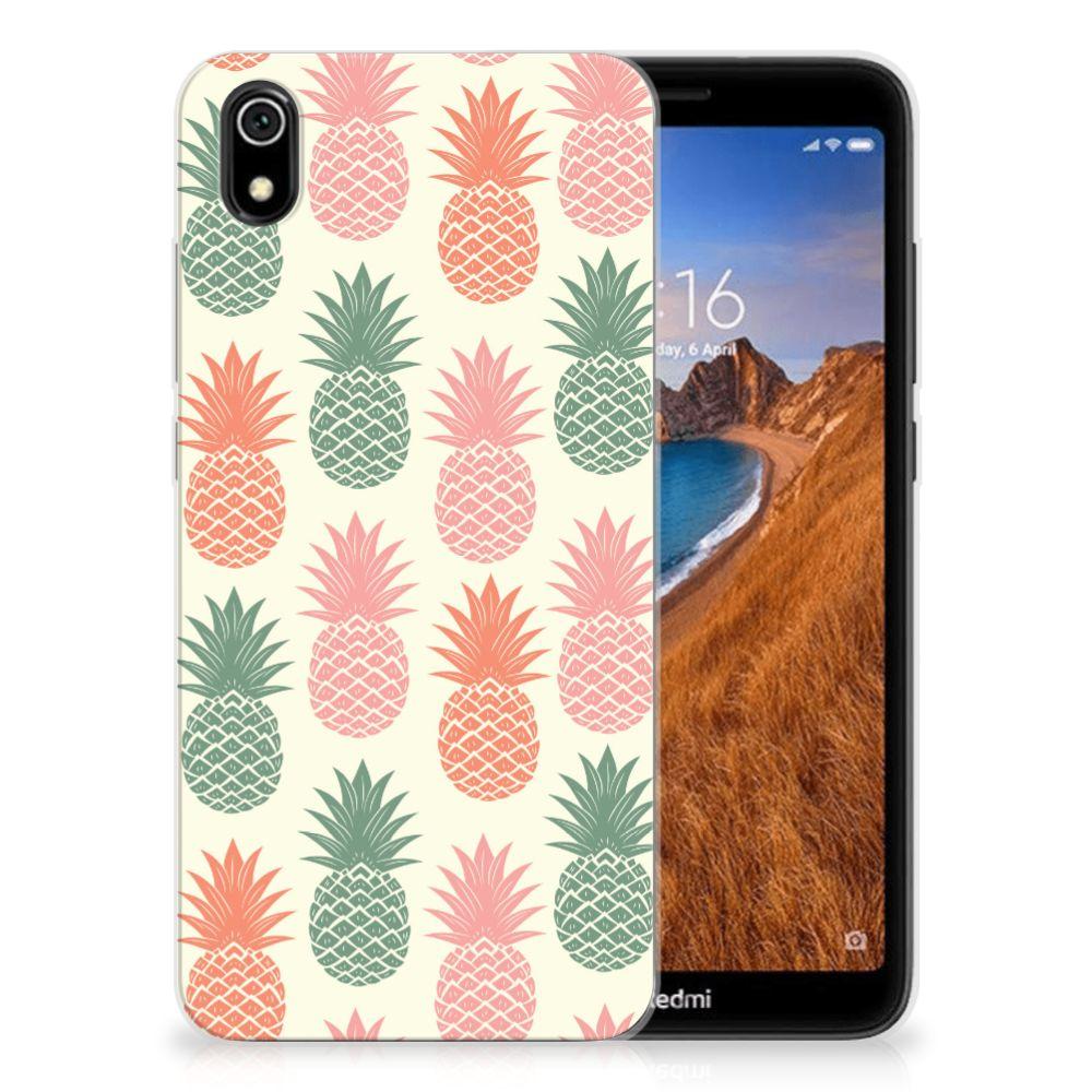Xiaomi Redmi 7A Siliconen Case Ananas