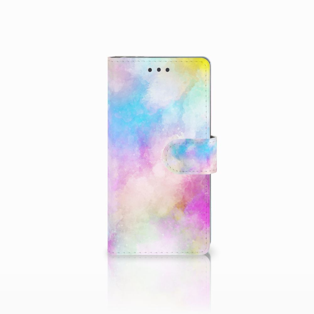 Sony Xperia E5 Uniek Boekhoesje Watercolor Light